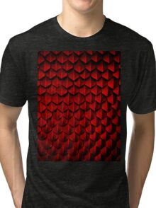 How To Train Your Dragon Hookfang Dragon Scales Tri-blend T-Shirt