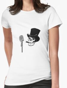 The announcer Womens Fitted T-Shirt