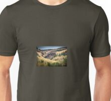 Pen Pych Waterfall above Blaencwm in the Rhondda Valley Unisex T-Shirt