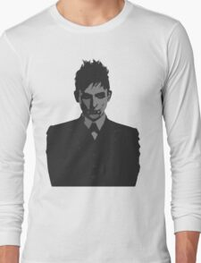 Penguin portait - Gotham Long Sleeve T-Shirt