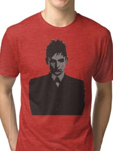 Penguin portait - Gotham Tri-blend T-Shirt