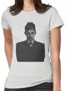 Penguin portait - Gotham Womens Fitted T-Shirt