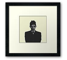 Penguin portait - Gotham Framed Print