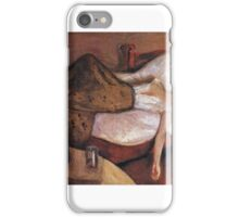 The Day After - Edvard Munch iPhone Case/Skin