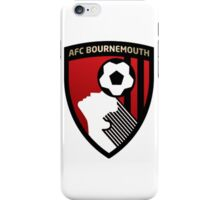AFC Bournemouth Soccer Logo iPhone Case/Skin