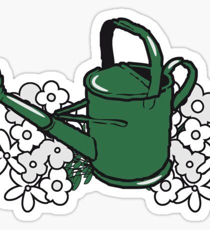 Garden watering flower gardening Sticker