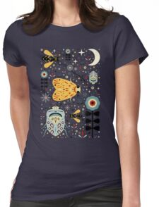 Midnight Bugs Womens Fitted T-Shirt