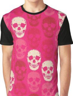 Saccharine Skulls Graphic T-Shirt