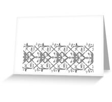 monochrome waters Greeting Card