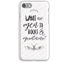 What are men? Pride and Prejudice iPhone Case/Skin