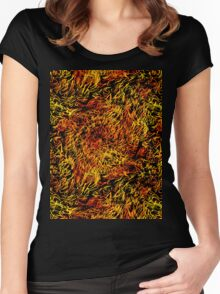 Abstract background 13 Women's Fitted Scoop T-Shirt