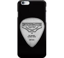 RICKENBACKER PIC PLECTRUM iPhone Case/Skin