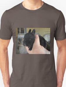Black Baby Bunny Unisex T-Shirt