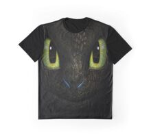 Big Toothless From How To Train Your Dragon Graphic T-Shirt