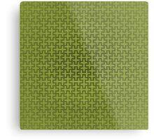 Sayagata 9 Green Metal Print