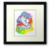 Colorful Mind Framed Print