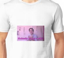 Filthy Frank - Nobody Gives a Shit Unisex T-Shirt