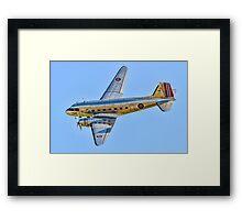 Douglas C-53D Skytrooper 42-68823 LN-WND Framed Print