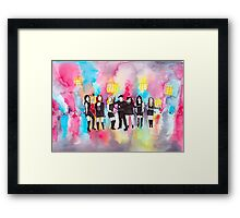 (Do It On My) Twin Bed Framed Print