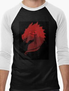 Mother of Dragons (Dark) Men's Baseball ¾ T-Shirt