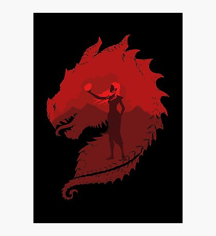 Mother of Dragons (Dark) Photographic Print