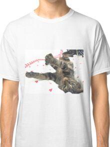 Kitten having a stretch Classic T-Shirt