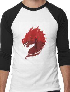 Mother of Dragons (Light) Men's Baseball ¾ T-Shirt