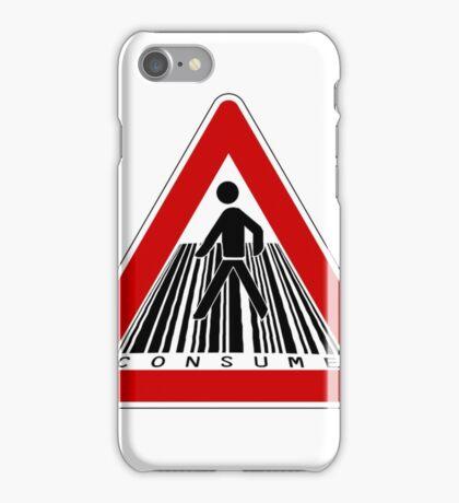 MIND THE CONSUMERISM iPhone Case/Skin