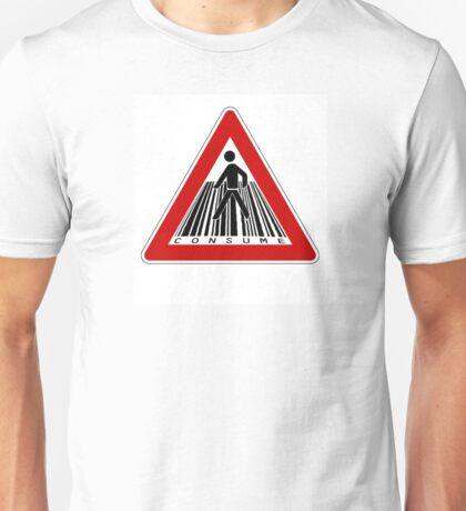 MIND THE CONSUMERISM Unisex T-Shirt