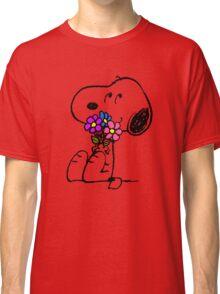 Snoopy Springtime Classic T-Shirt