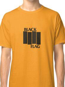 BLACK FLAG on WHITE Classic T-Shirt