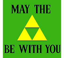Zelda May The Force Be With You Photographic Print