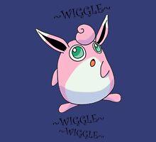 WIGGLYTUFF - WIGGLEWIGGLEWIGGLE Women's Fitted V-Neck T-Shirt