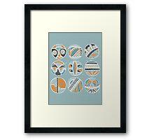 Rings Of Memory Framed Print