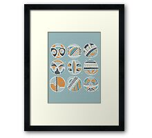 Rings Of Memory Framed Print