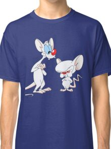 Best Friend Pinky And Brain Classic T-Shirt