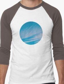 Wispy sky Men's Baseball ¾ T-Shirt