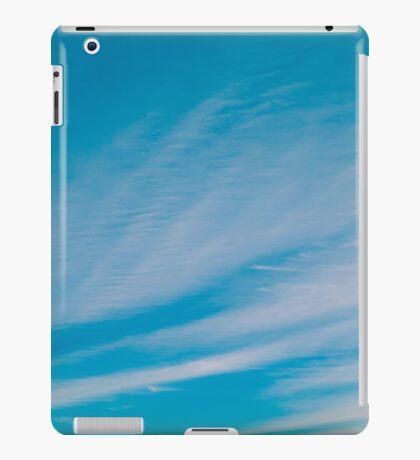 Wispy sky iPad Case/Skin