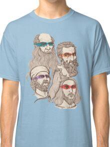 Leonardo, Michelangelo, Donatello, and Raphael... Oh and Splinter Classic T-Shirt