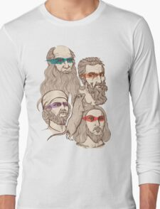 Leonardo, Michelangelo, Donatello, and Raphael... Oh and Splinter Long Sleeve T-Shirt