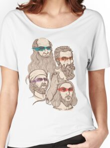 Leonardo, Michelangelo, Donatello, and Raphael... Oh and Splinter Women's Relaxed Fit T-Shirt