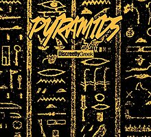 Discreetly Greek - Pyramids by integralapparel