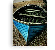 Herb Boat Canvas Print