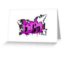 BTS War of Hormones Grafitti Greeting Card