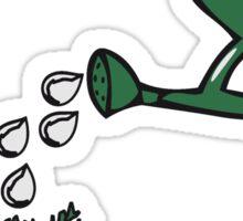 Garden vegetable watering Sticker
