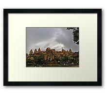 Siem Reap, Cambodia Framed Print