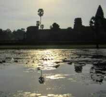 ANGKOR WAT TiME 10am| CAMBODIA Sticker