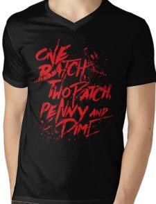 Penny & Dime Mens V-Neck T-Shirt
