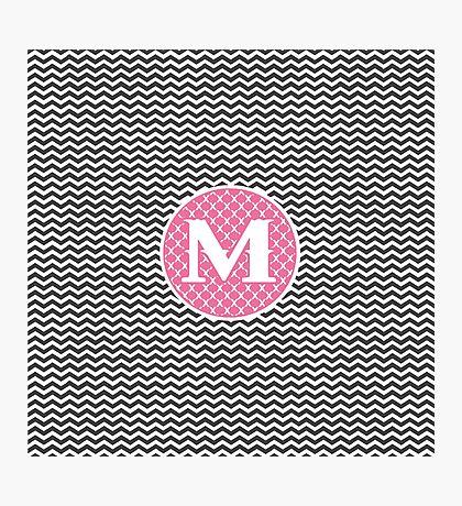 M Link Photographic Print