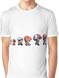 Pokemon evolution Graphic T-Shirt
